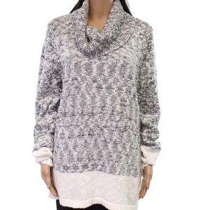 KARL LAGERFELD PARIS Cowl neck Sweater